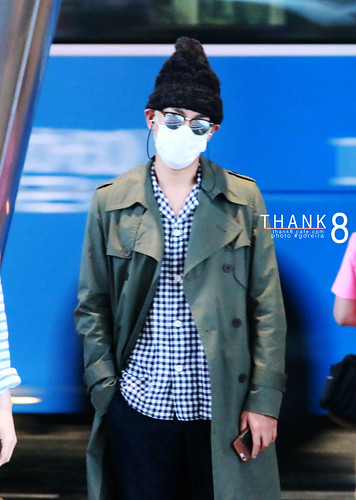 BIGBANG Arrival ICN from Malaysia 2015-07-26 HQs by GDREIRA 001