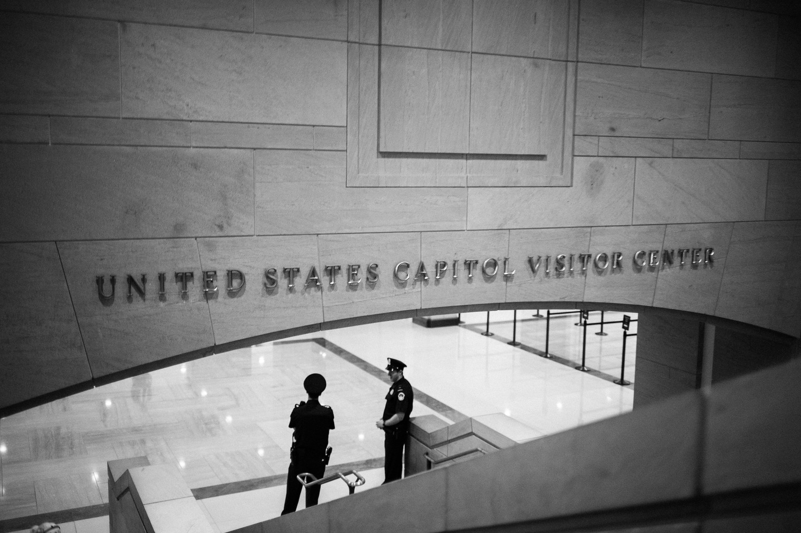 "Image titled ""United States Capitol Visitor Center."""