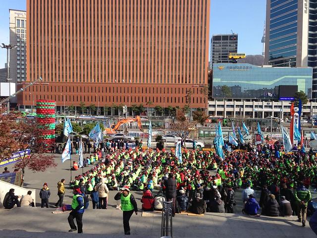 Seoul Station demonstration