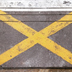 Platform X #photography #art #station #platformmarkings #yellow #dailychallenge