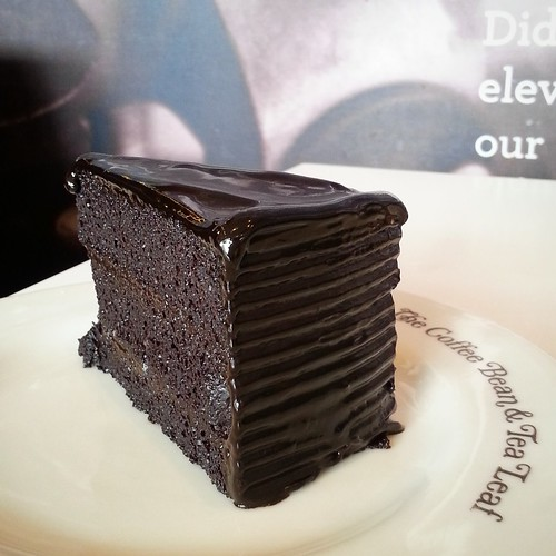 Chocolate Truffle Cake at The Coffee Bean & Tea Leaf - DavaoFoodTrips.com IMG_20150325_145045