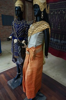 Examples of silk historical costumes