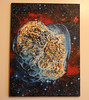 Heart Shaped Nebula Painting - Almost Finished!