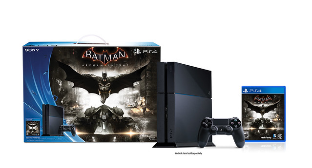 Arkham Knight PS4 Console 16364306363_18ed63e557_z