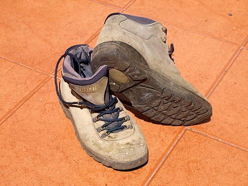 My Glastonbury hiking boots