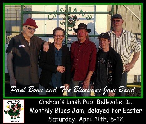 Bluesmen Jam Band 4-11-15