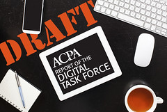 #ACPADigital Task Force - Report Draft