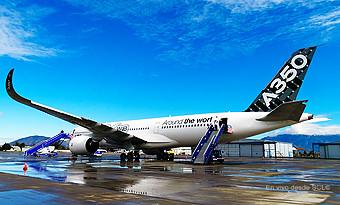 A350-900 en SCL (RD)