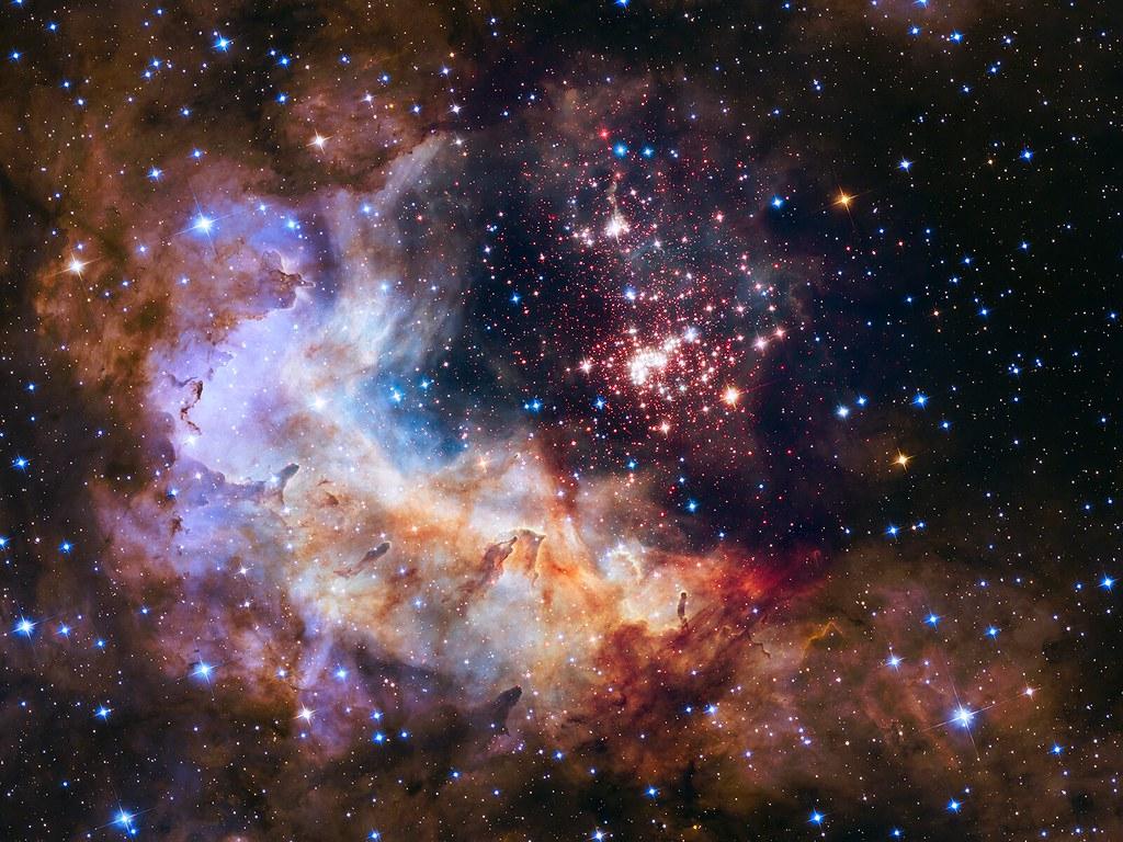 Explosiones interestelares espectaculares: nacimiento de estrellas jóvenes