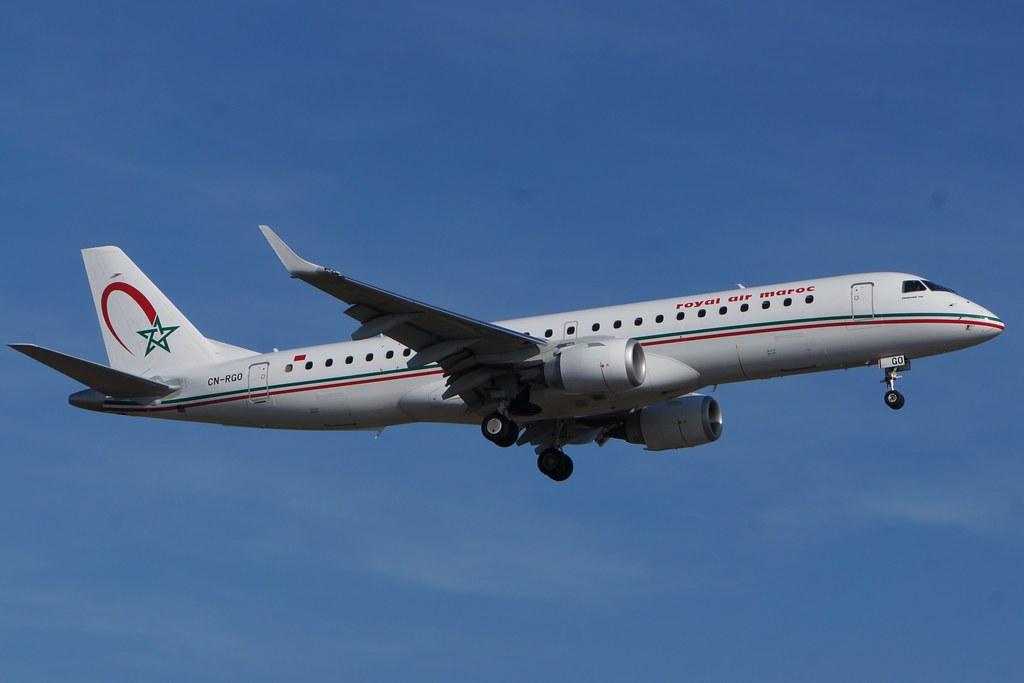 CN-RGO - E190 - Royal Air Maroc