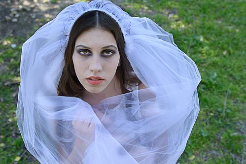 Girl with veil#2