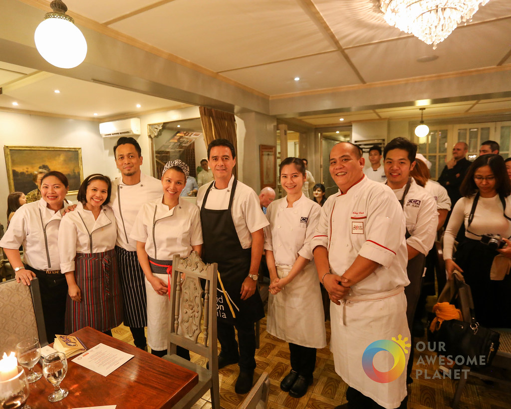 CASA ROCES: Chef Sau's Grand 7-Course Kapampangan Dinner! @Casa_Roces @MadridFusionMNL