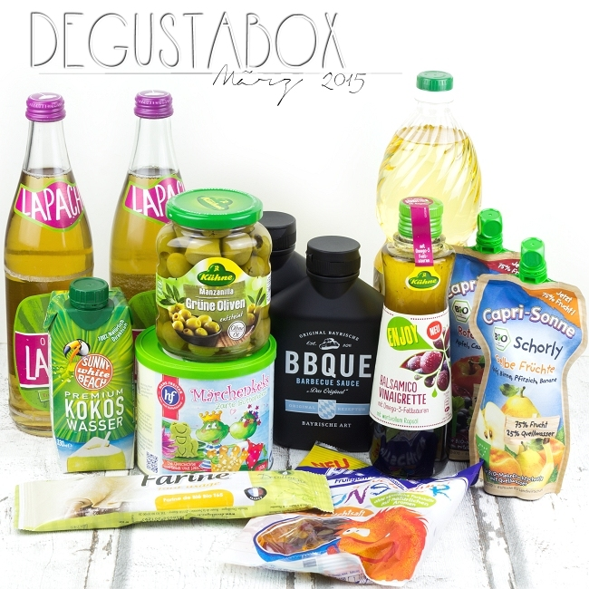 Degustabox März 2015