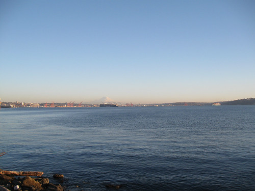 SIR Spring Populaire 2015 - The Sound, the Port and Mount Rainier (in the distance)
