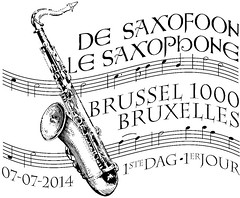 13 LE SAXOPHONE zBrussel N