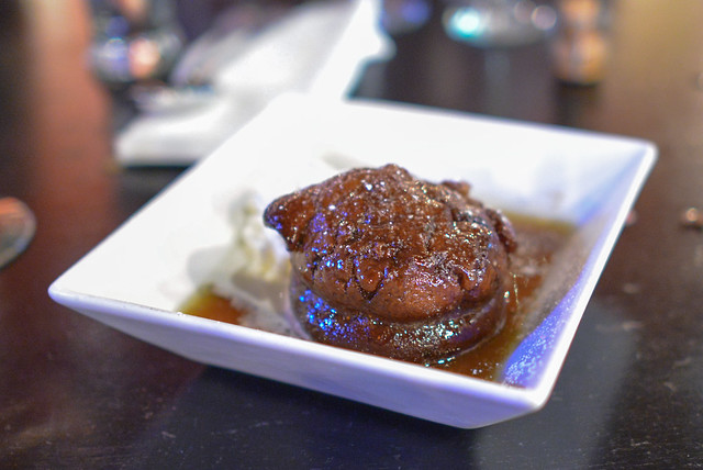 Black Mission Fig Sticky Toffee Pudding