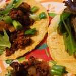 Ancho-Lentil Tacos