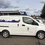 Köpings kommuns nya elbil - det syns