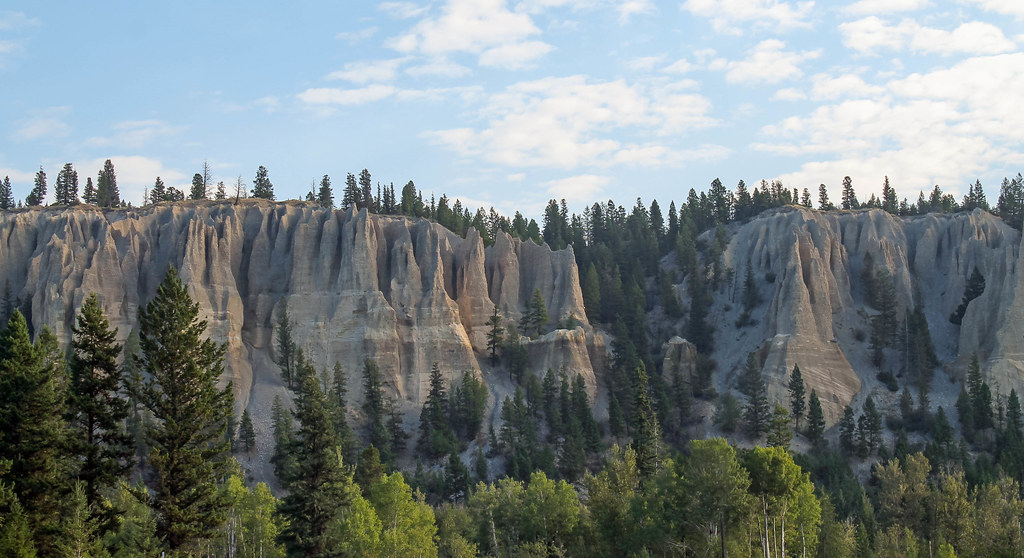 Hoodoos in British Columbia
