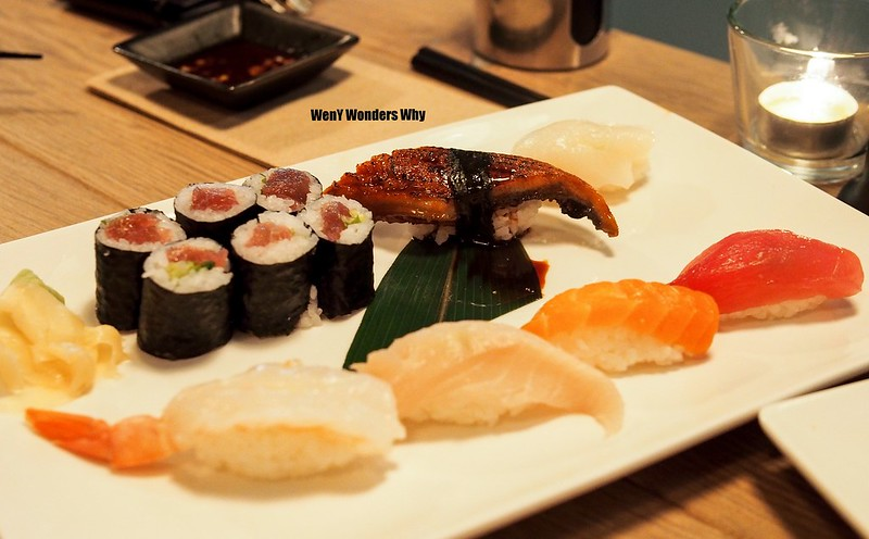 Weny wonders why bites sushi with a modern touch the for Modern house sushi 9 deler sett