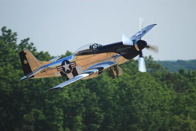 """P-51 """"Quick Silver"""""""