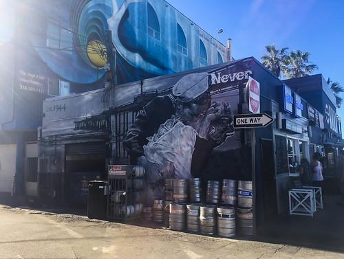 Street art and Kegs in Venice, CA