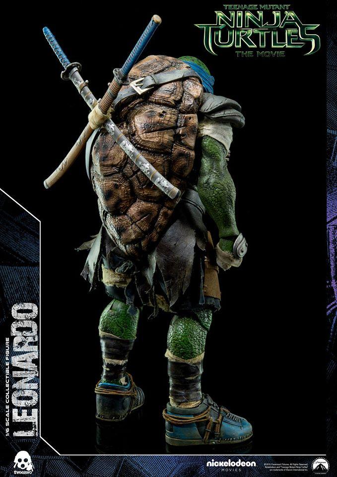 threezero 忍者龜:變種世代【李奧納多】Leonardo 1/6 比例人偶作品