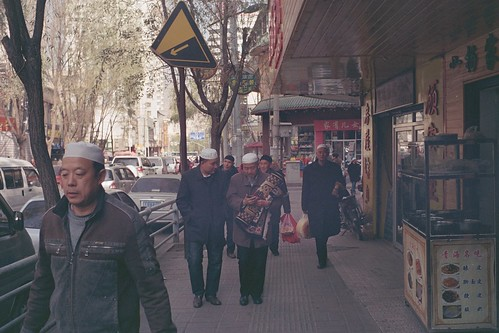 china leica old man film 35mm carpet f14 muslim voigtlander prayer mosque 200 m6 qinghai xining jumuah efiniti
