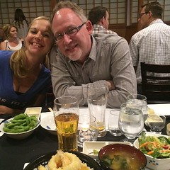 Celebrating the hubby's 50th at Kanpai!