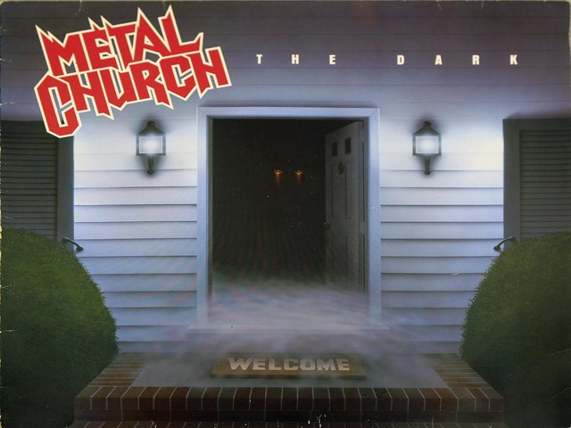 "METAL CHURCH THE DARK Germany 12"" LP VINYL"