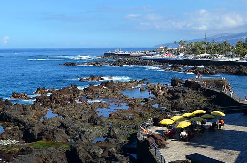 looking north from Puerto de la Cruz, Tenerife