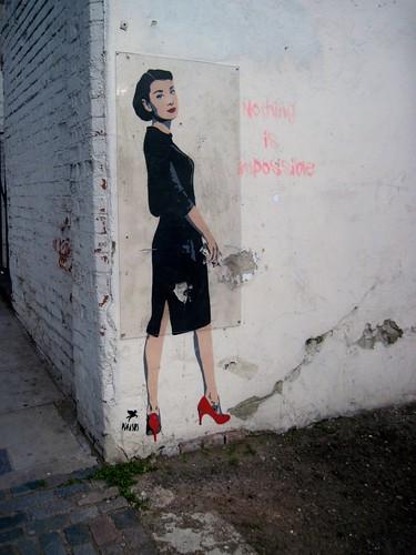 Graffiti on Highgate Hill