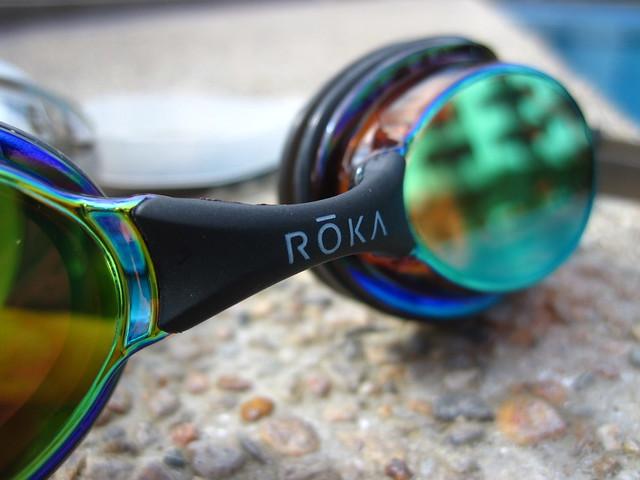 ROKA F1 SPCTRM goggles (Amber Mirror)