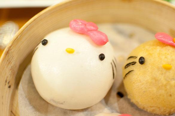 Hello Kitty 蓮蓉包 蓮の実饅頭