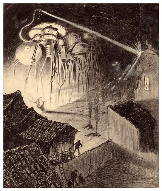 011-La Guerre des Mondes illustreè par Alvim Corrêa-1906- Heritage Auctions