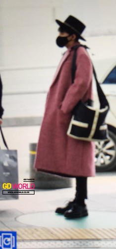 Big Bang - Incheon Airport - 21mar2015 - G-Dragon - GD World - 02