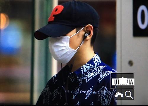 BIGBANG Arrival Seoul from Dalian 2016-06-26 (10)