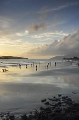 Sunset on the beach, Langkawi