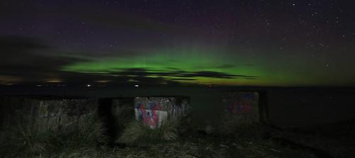 Aurora spiking at Findhorn