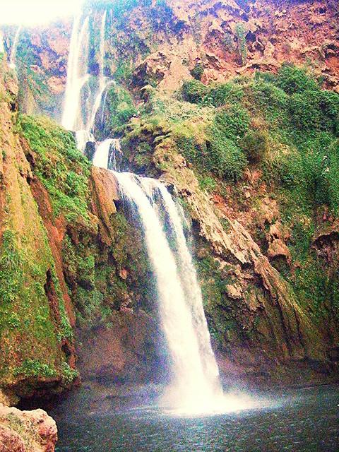 Cascades d'Ouzoud, Maroc, Fujifilm FinePix Z10fd