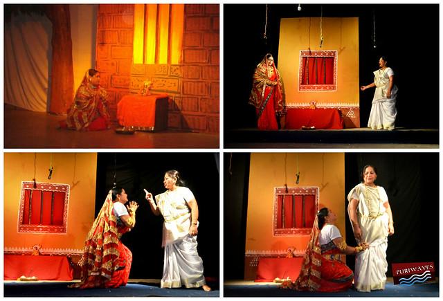 Devotional drama 'Bhakta Karmabai'  has staged at muktakash rangamanch #puri #odisha