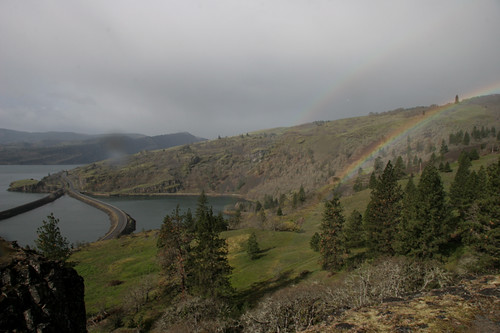Rowland Lake, Columbia River and Rainbow