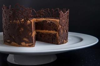 "The ""I want Chocolate Cake"" Cake"