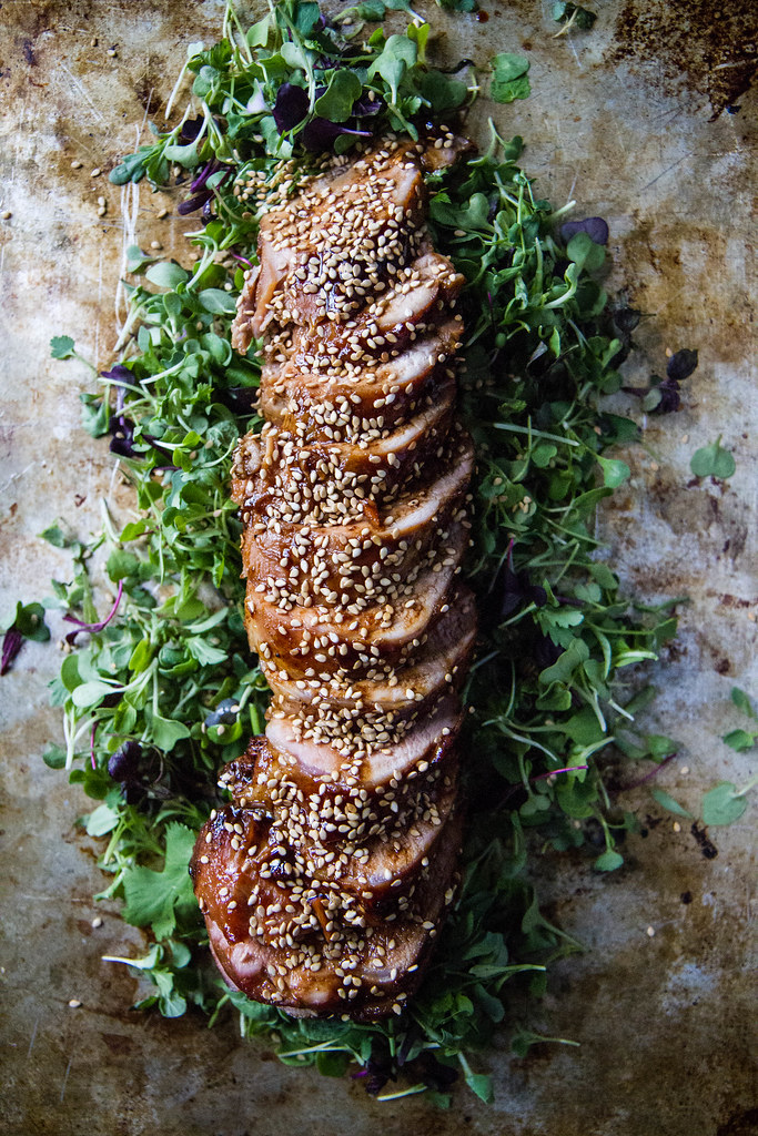 Soy Sesame Maple Pork Tenderloin