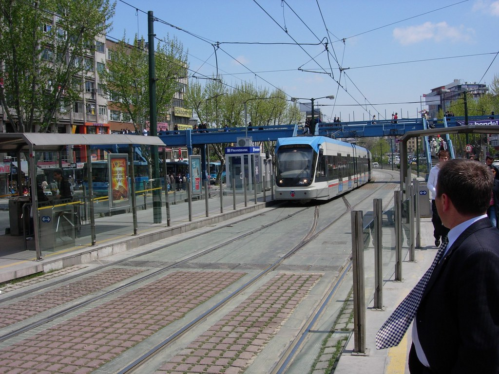 Tranvía en Estambul, una buena forma de moverse