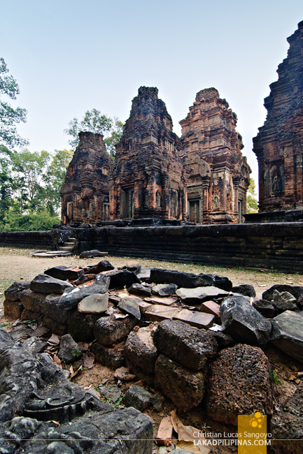 Preah Ko in Rolous, Siem Reap