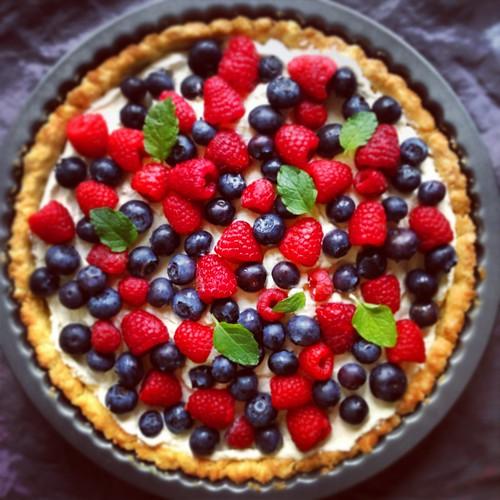 Instagrammed Fruit Tart