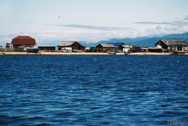 Chivyrkuiskiy zaliv. Baikal. Russia