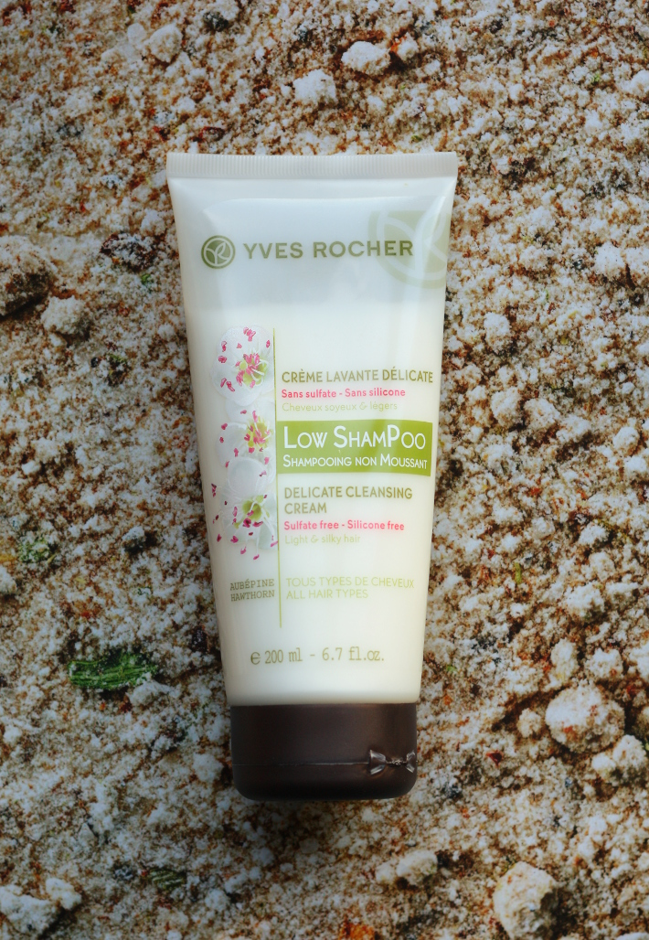 Beauty: on silicones, sulfates and Yves Rocher Low Shampoo