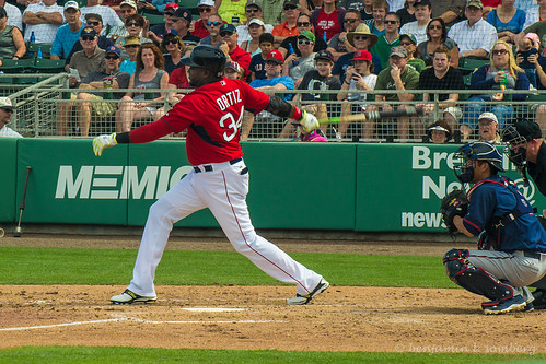 David Ortiz at bat